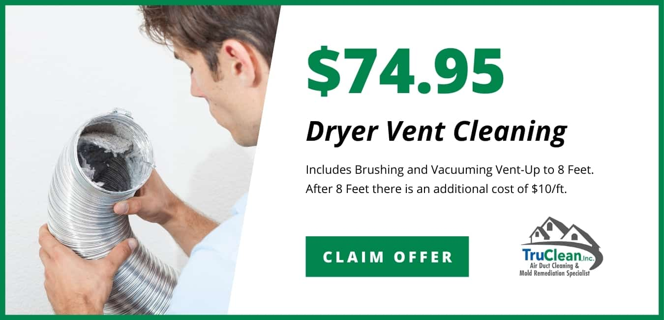 Dryer Vent Cleaning Coupon TruClean Memphis