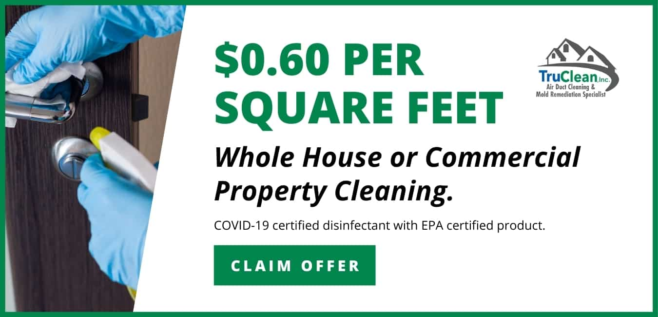 House or Commercial Cleaning Coupon TruClean Memphis